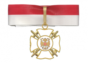 Das Kommandeurskreuz (Halsdekoration)